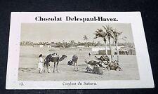 PHOTO CHOCOLAT DELESPAUL-HAVEZ 1950 FRANCE COLONIES AFRIQUE MAROC SAHARA MAGHREB