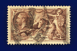 1934-SG450-2s6d-Chocolate-Brown-N73-1-Notting-Hill-Good-Used-Cat-40-cnmw