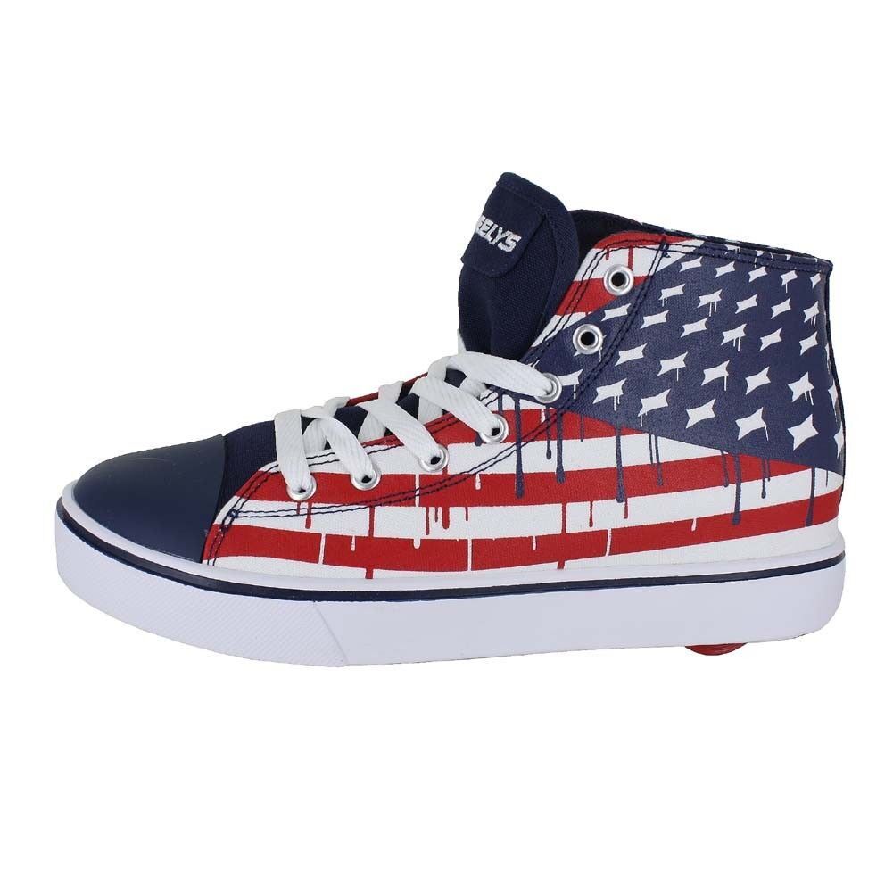 HEELYS HUSTLE AMERICAN FLAG BL WHT RD 778102M Uomo US SIZES