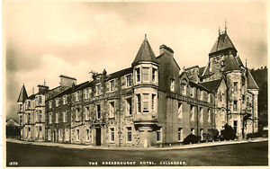 Image Is Loading Callander Scotland The Dreadnought Hotel Rp White