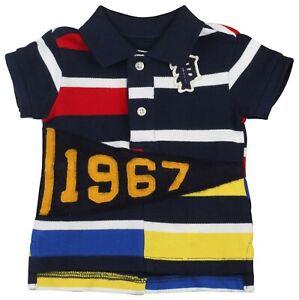 d1ef7d05 Details about NWT Polo Ralph Lauren 9M Infant Boys' 1967 Striped Shirt