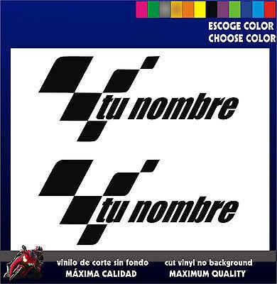 Honda Racing Negro 2 X HRC Corte De Vinilo En Las texto//Pegatinas//Insignias