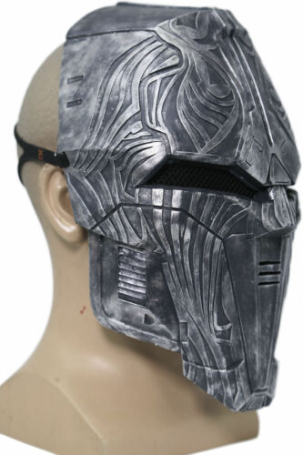 Sith Acolyte Mask Star Wars Cosplay the Old Revan Helmet Halloween Mask Silver