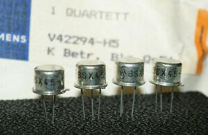 Factory Matched Quad Siemens Transistor BSX45-10 / BFY34 NOS (3€/St) V42294-H5