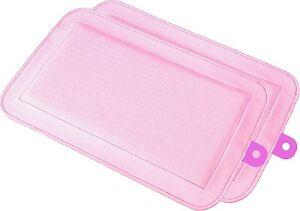 DryFur-Pet-Carrier-Insert-Pads-size-Petite-13-5-034-x-8-5-034-Pink-2-pack