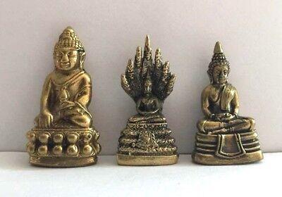 Figuren amulett miniatur b157 VAMANA Buddha China Messing