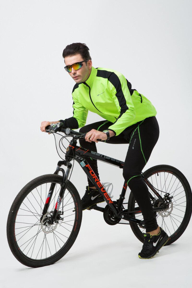 Herren Fahrrad Set Winter Radtrikot Radtrikot Radtrikot Langarm Fahrradbekleidung Trikot & Hose c52dde