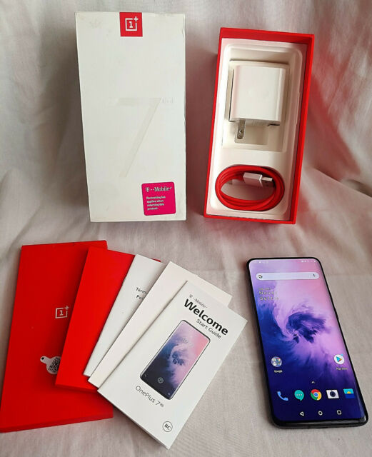 2 WEEKS OLD! OnePlus 7 Pro - 256GB - T-Mobile 8GB RAM 48MP Gray GM1915