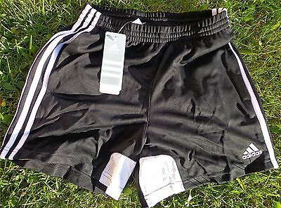 TIRO 11 Sport Soccer Short kurze Hose ADIDAS NEU für DAMEN Größe S schwarz