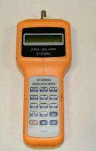Holland-ST-4000D-CATV-Signal-Level-Meter