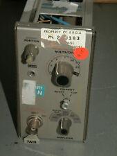 Tektronix 7a19 Amplifier Plug In Module