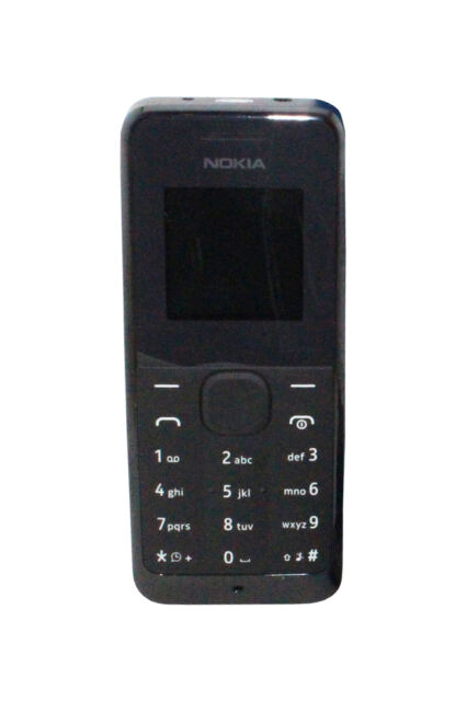 Nokia 105 Black Unlocked Cellular Phone For Sale Online Ebay
