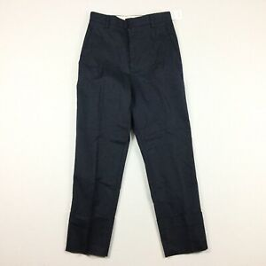 NWT The Script Womens Size 6 Cluadia Style Ankle Pants Chinos Navy Blue. E6