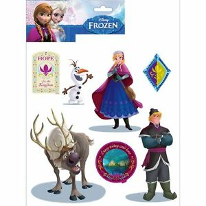 DISNEY-FROZEN-WALL-STICKERS-14-PIECES-NEW-amp-OFFICIAL-BEDROOM