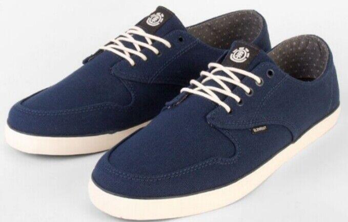 Elemento Zapatos Topacio Oscuro Royal Zapato en Azul Oscuro Hombres Nuevos