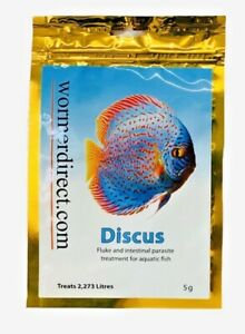 Kusuri-Discus-amp-Tropical-Fish-Wormer-Plus-treats-500-to-8000-Gallons