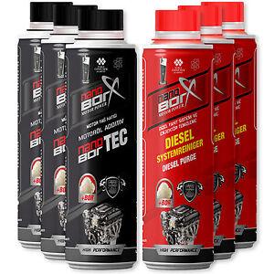 3-x-Nanoborx-Motorol-amp-Diesel-Tankzusatz-Additiv-je-300ml-Tuning-Power-Bor