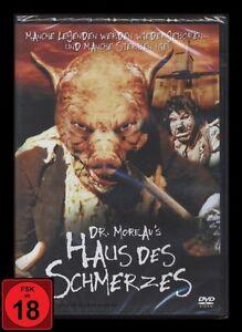 DVD DR. MOREAU'S HAUS DES SCHMERZES - HORROR - FSK 18 (Dr. Moreaus) *** NEU ***