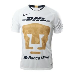 buy online 4fe9f 96e25 Details about NIKE PUMAS UNAM HOME JERSEY 2018/19