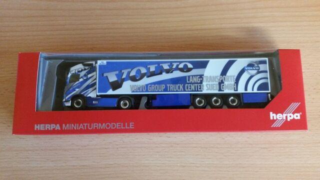 Herpa 308014 - 1/87 Volvo Fh Gl Xl Kühlkoffer-Sz - Lang Transporte - Neu