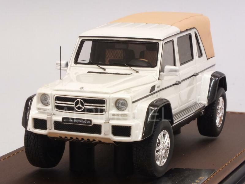 Mercedes maybach g650 Landau Closed 2017 White Metallic 1 43 GLM glm207602