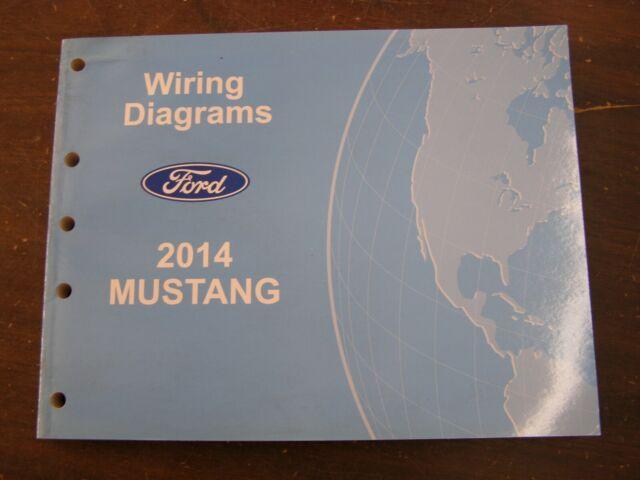 OEM Ford 2014 Mustang Shop Manual Wiring Diagram Book nos ...