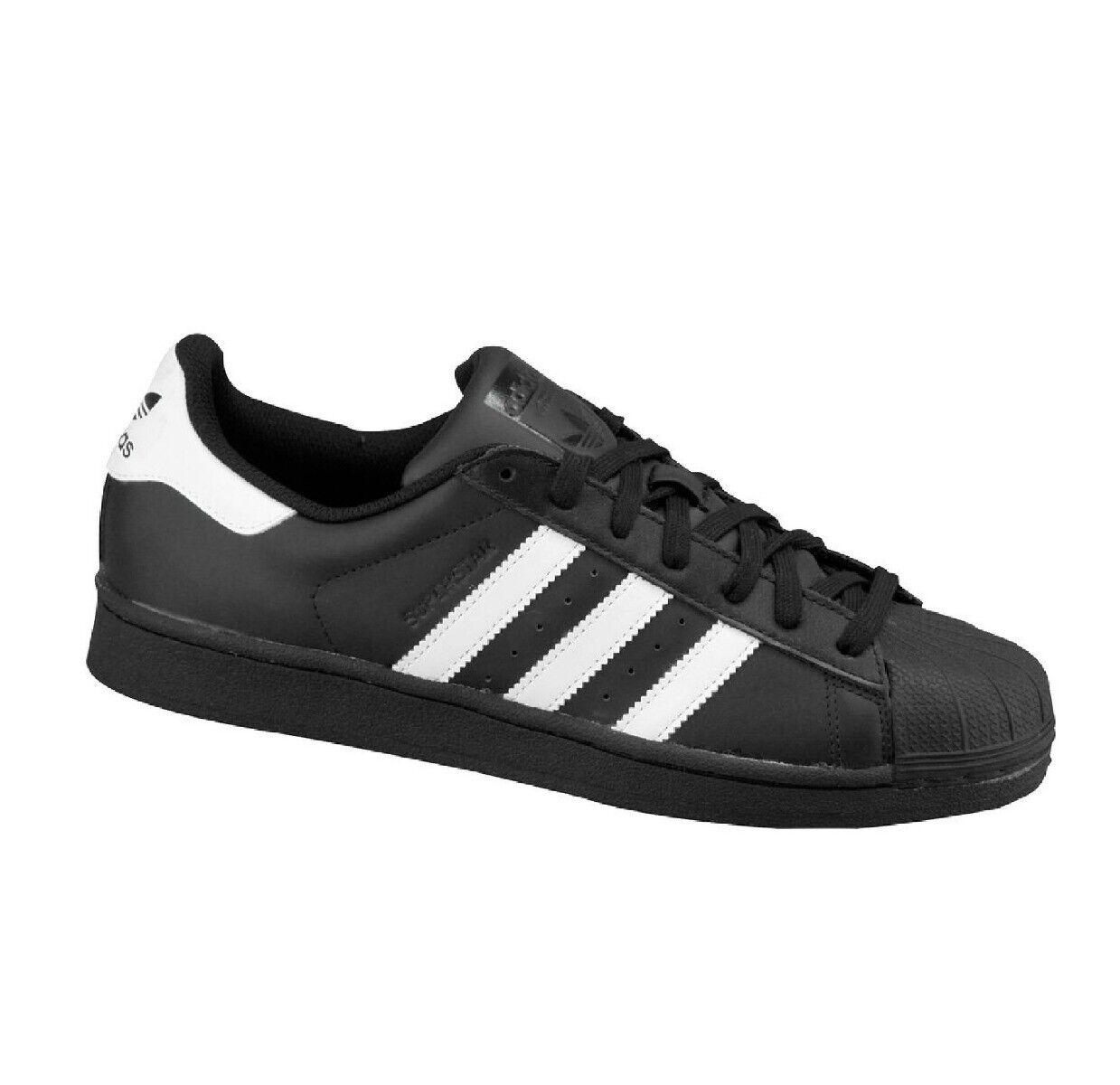 Adidas Superstar Hombre Negro blancoo Zapatilla Zapato nuevo PVP  -