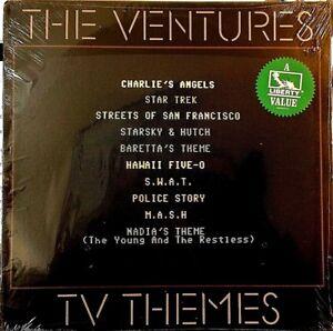 Sealed-THE-VENTURES-LP-TV-THEMES-Liberty-LN-10224-1984-Hawaii-Five-O-etc