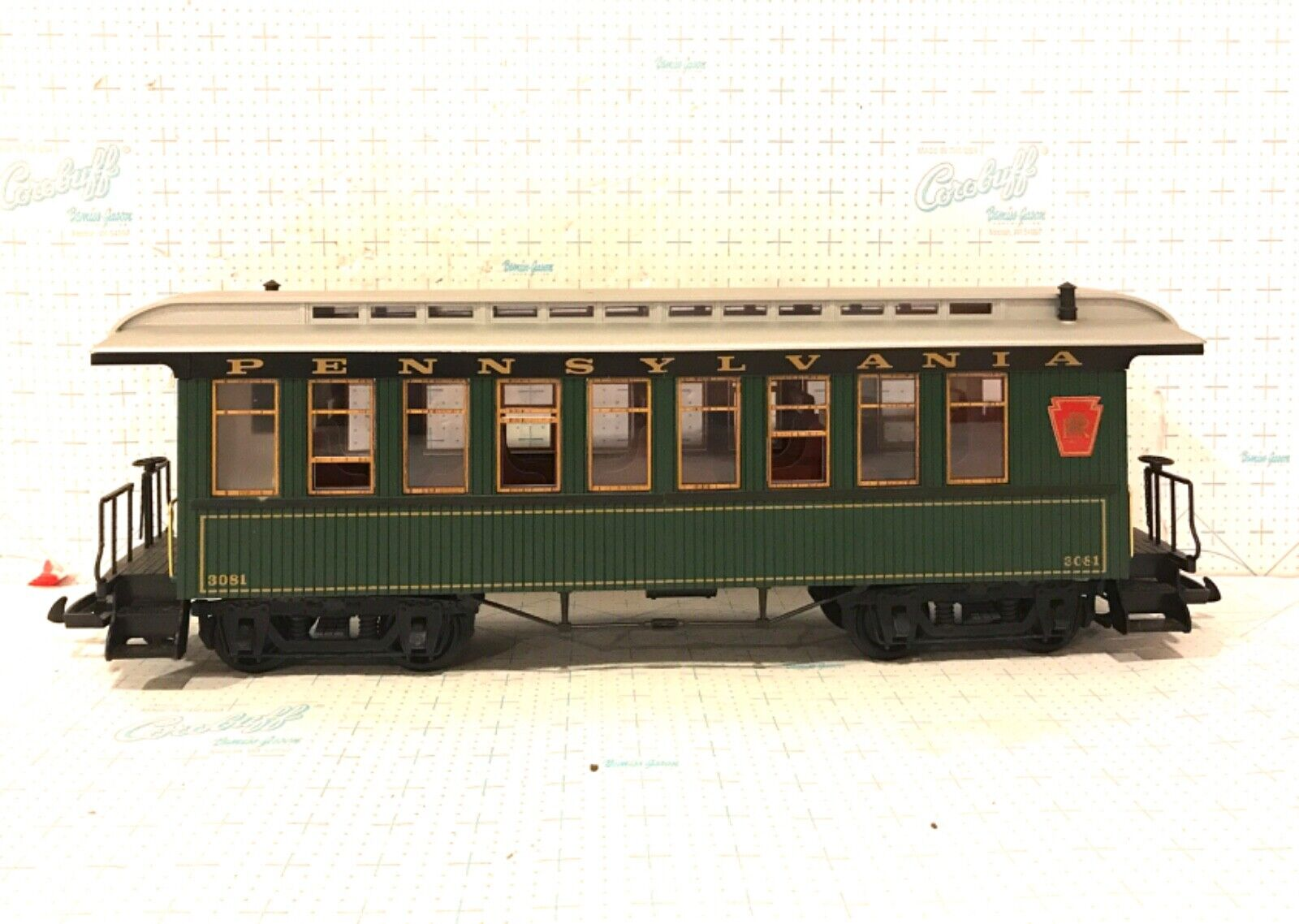 LGB G SCALE 3081 PENNSYLVANIA borsaGAGE auto WITHOUT scatola