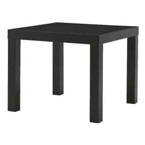 LACK-Small-Side-Table-Black-Coffee-Lamp-End-Console-Living-Room-55-x-55-x-45