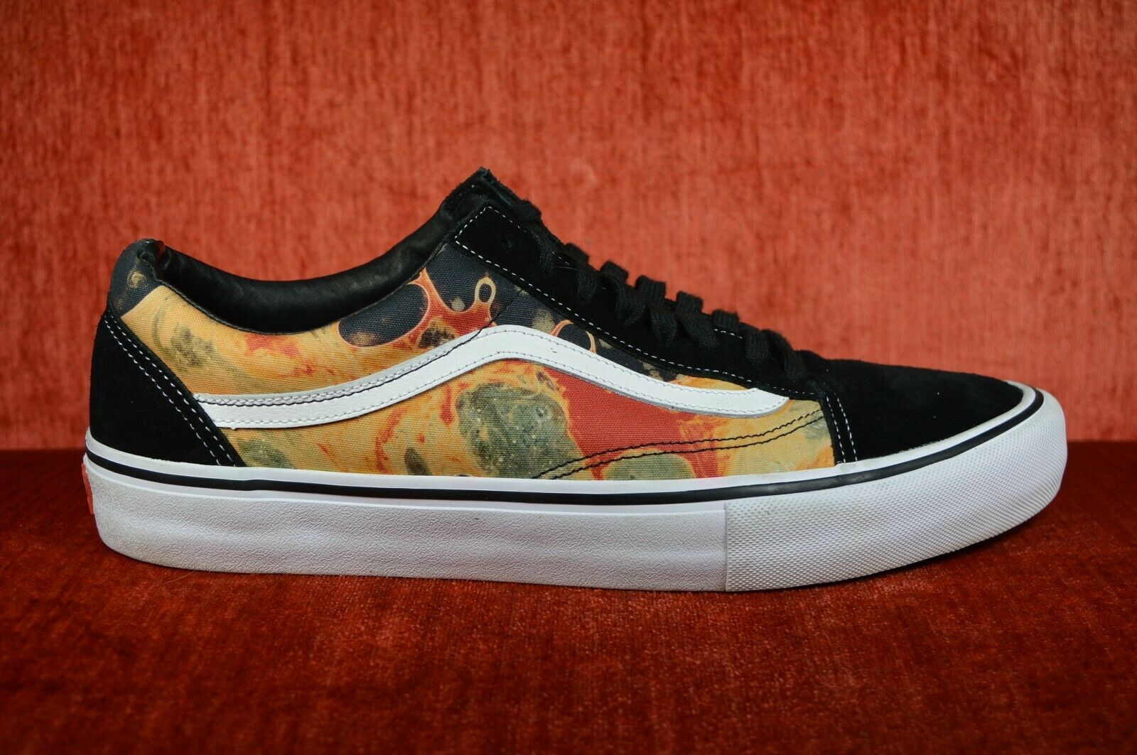 WORN TWICE SUPREME Vans Serano Blood and Semen Old Skool Size 13 VN0A347TR2W