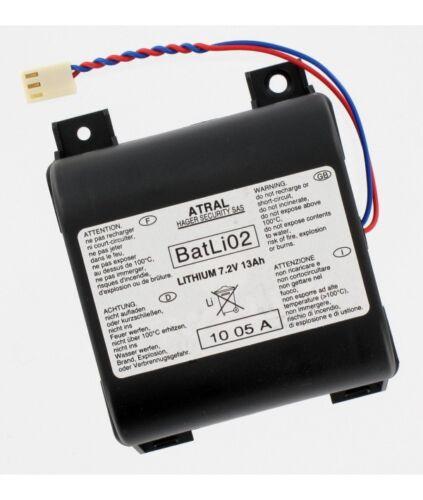 Pile Batli02 d/'origine Daitem 7.2V 13Ah Lithium pour alarmeOriginal fabricant