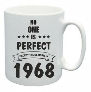51st-Novelty-Birthday-Gift-Present-Tea-Mug-No-One-Is-Perfect-1968-Coffee-Cup