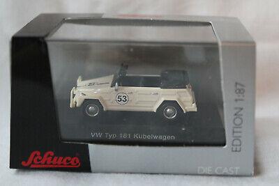 Schuco 452583300 VW 181 Kübelwagen Rallye #53 Herbie Design 1:87
