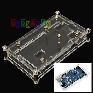 Acrylic-Box-Enclosure-Transparent-Case-for-Arduino-MEGA2560-UNO-US-SHIP