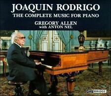 Joaquin Rodrigo: The Complete Music for Piano; 1991 CD, Gregory Allen, Anton Nel