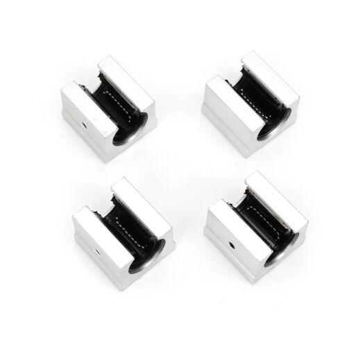2X SBR20 800//1000mm Linearführung Gleitschiene Welle+4X SBR20UU Linearblock CNC