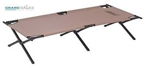Camping Cots For Adults Folding Outdoor Bed Heavy Duty Frame Hiking Sleeping Cot