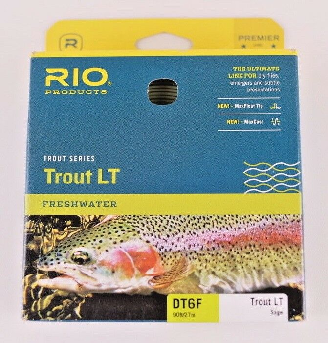 Rio Trout LT Fly Line DT6F Sage Free Expedited Shipping 620725
