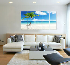 Tropical Decor Beach Prints On Canvas Home Interiors Wall Decor Art Prints Ebay