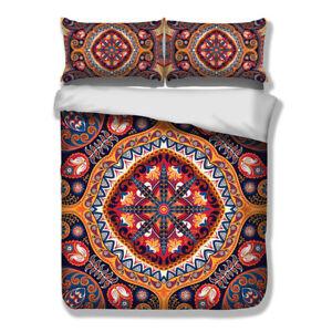 Mandala-Quilt-Doona-Duvet-Covers-Set-Double-Queen-Single-King-Size-Bedding-Linen