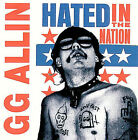 Hated in the Nation [PA] by G.G. Allin (Vinyl, Nov-2004, ROIR)