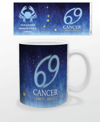 CANCER CONSTELLATION 11 OZ COFFEE MUG ZODIAC SIGN TEA GIFT ASTROLOGY MYTHOLOGY!!