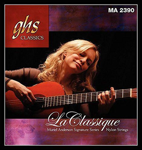 GHS MA2390 Muriel Anderson Signature Nylon Classical Guitar String Set