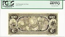 TIM PRUSMACK MONEY ART $100 GOLD COINS SUPERB GEM NEW 68 -AMAZING!