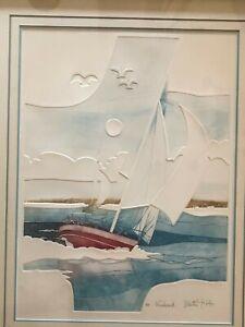 Martin Tobias etching signed, titled(Windward)   eBay