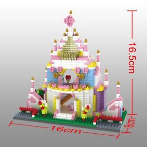 374Pcs//Set DIY Blocks House Cute Kid EDC Gifts Toys Building House Assembly