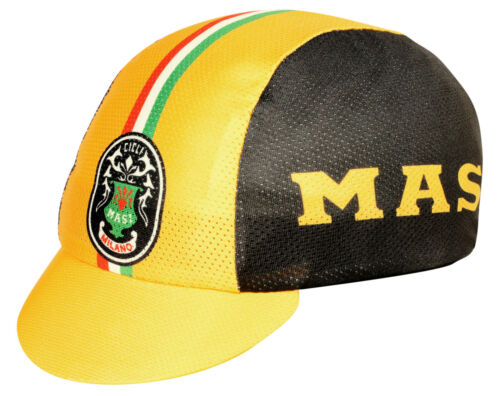 MASI BICYCLES TEAM COOLMAX CYCLING CAP NEW BIKE RIDE HAT  **