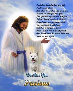 Memorial De Perro. - Westie-West Highland Terrier-Jesús/Poema ...