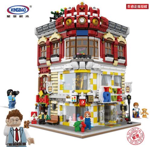XB-01006 Kunststoff Baukästen Mini Buchhandlung Gebäude Spielzeug OVP 5491PCS